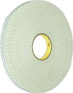 3M 4032 Natural Polyurethane Double Coated Foam Tape, 1