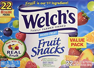 Welch's Mixed Fruit Snacks 22ct, 19.8 oz Box