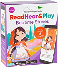 Read Hear & Play: Bedtime Stories (6 Book Set & Downloadable App!)