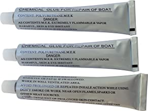 3x 30g 1.05 OZ Inflatable Boat Tube Repairing Glue Accessories Add-on Glue fits for 11' inflatable sup