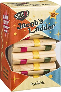 Toysmith Neato! Classics Jacob's Ladder Retro Wooden Puzzle Toy, 6195