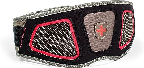 Harbinger Men's FlexFit Contour Nylon Weightlifting Belt with Flexible Foam Core for Strength Training, 6-Inch