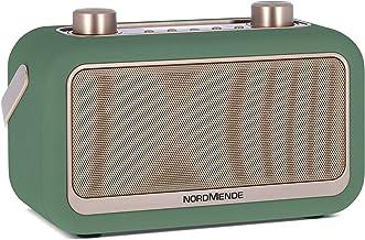 Nordmende Transita 30 - portables Digitalradio DAB, UKW, Bluetooth-Audiostreaming, Wecker, Uhrzeit, Favoritenspeicher, LCD Display, Kopfhöreranschluss, 2 x 3 Watt Stereolautsprecher grün