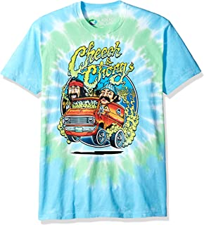 Cheech and Chong Smokin' Ride Tie Dye Short Sleeve T-Shirt