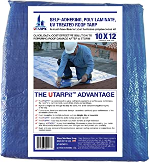 UTARPit 10 ft. x 12 ft. Blue Roof Tarp