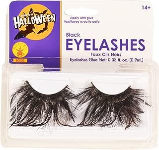 Rubies Black Eyelashes and Adhesive