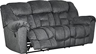 Signature Design by Ashley Capehorn Reclining Sofa, Granite