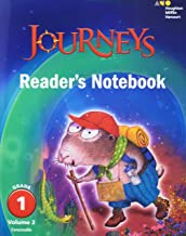 Journeys: Reader's Notebook Volume 2 Grade 1