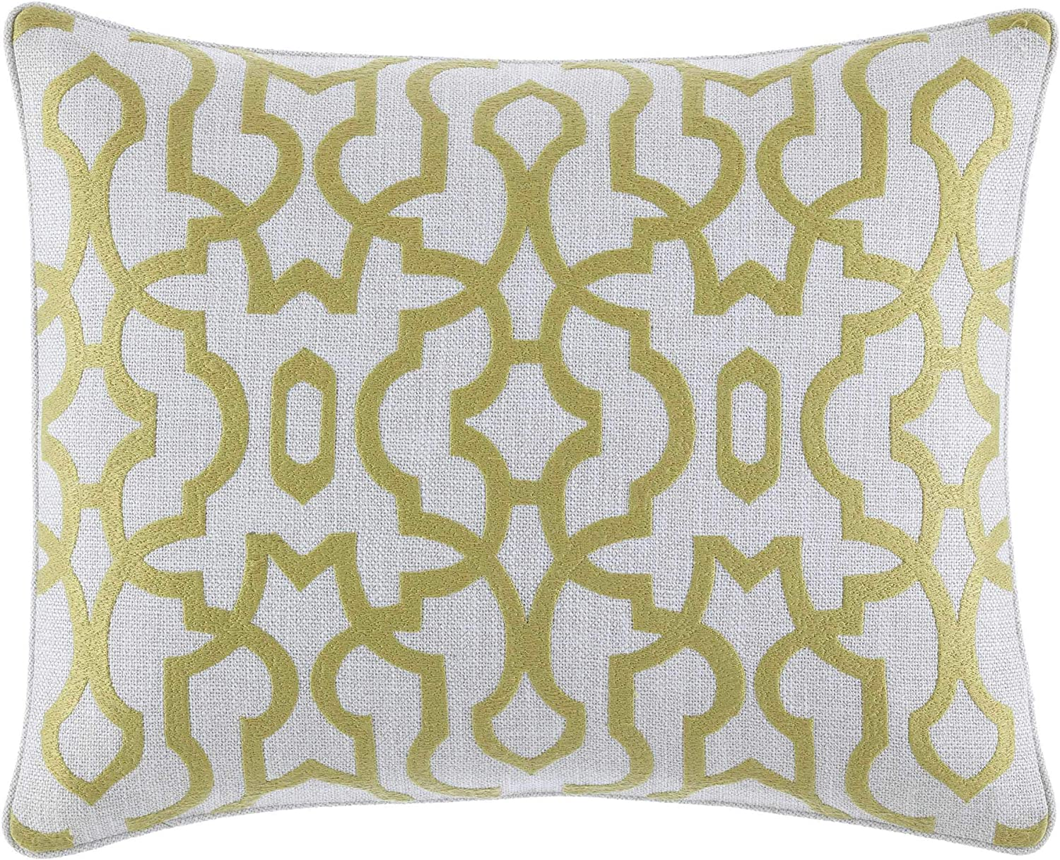 Tommy Bahama Super-cheap Palmiers Embroidered Trellis Pillow 16x20 Throw Max 85% OFF M