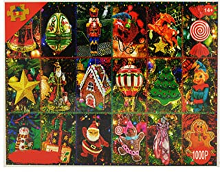 Jigsaw Puzzles for Adults 1000 Piece - Festival Christmas Intellectual Game for Adults and Kids