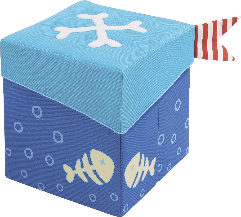 distribución global HABA 8604 - Cubo para Sentarse Diseño Pirata Pirata Pirata  ventas directas de fábrica