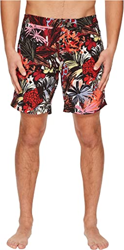 onia Calder 7.5 Spanish Jungle Swim Shorts