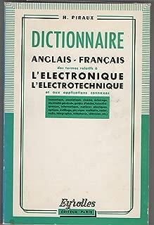Dictionaire Anglais-Francais Electrotechnique L'electronique