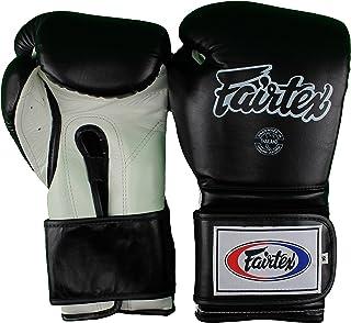 Fairtex Boxing Gloves BGV9 Heavy Hitters Gloves � Mexican Style (White/Black, 16oz))