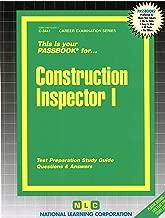 Construction Inspector I (Career Examination Passbooks)