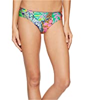 Trina Turk - Tropic Escape Shirred Side Hipster Bottom