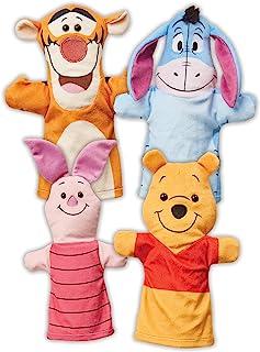 Melissa & Doug Disney Winnie the Pooh Soft & Cuddly Hand Puppets