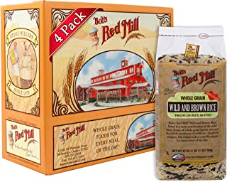 Bob's Red Mill Wild & Brown Rice Blend, 27-ounce (Pack of 4)