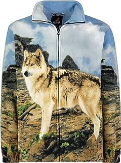 Best wolf fleece jacket Reviews