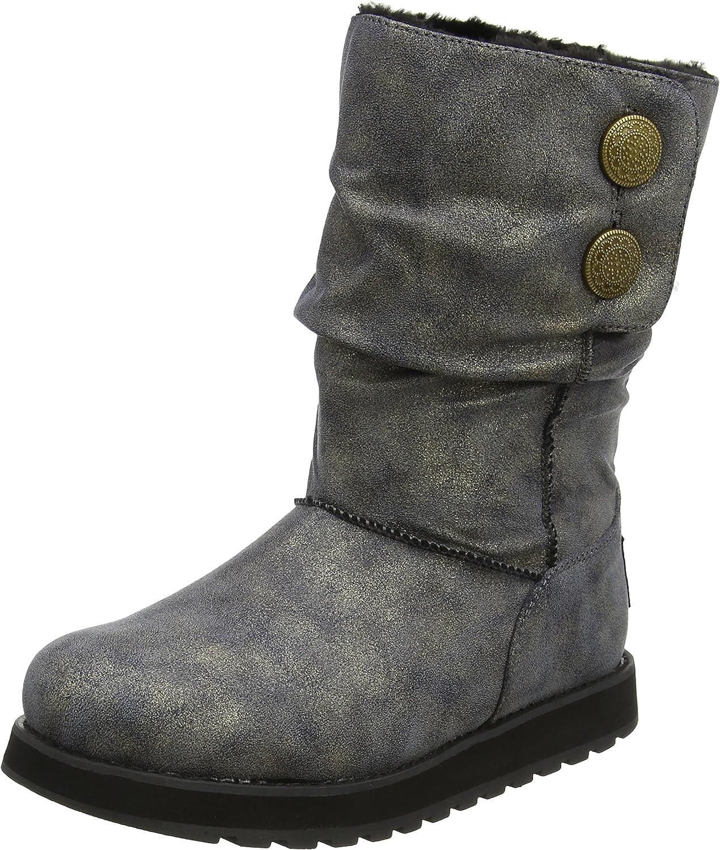 Skechers Women's Keepsakes-Big Button 最安値挑戦 100%品質保証! Winter Boot Slouch