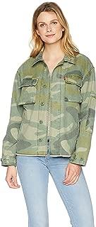 Levi's Women's Cotton Two Pocket High Low Shirt Jacket