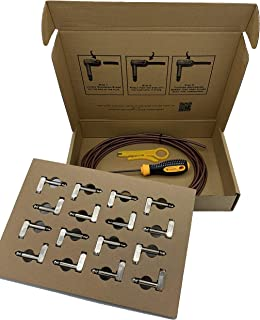 Canary Solderless Pedalboard Cable Kit 16 Connectors and 16 Feet of Premium Low Capacitance Cable.