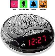 Magnavox Digital Dual Alarm Clock AM/FM Radio, Dimmer, Snooze, 0.6