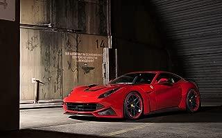 2014 Novitec Rosso Ferrari F12 Berlinetta N Largo 18X24 Poster