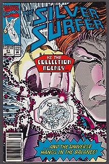 SILVER SURFER #61 Marvel comic book 1 1992