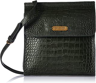 Isle Locada by Hidesign Women's Sling Bag (Emerald/Midblue) (N 1)