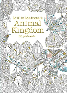 Millie Marotta's Animal Kingdom: 50 Postcards (A Millie Marotta Adult Coloring Book)