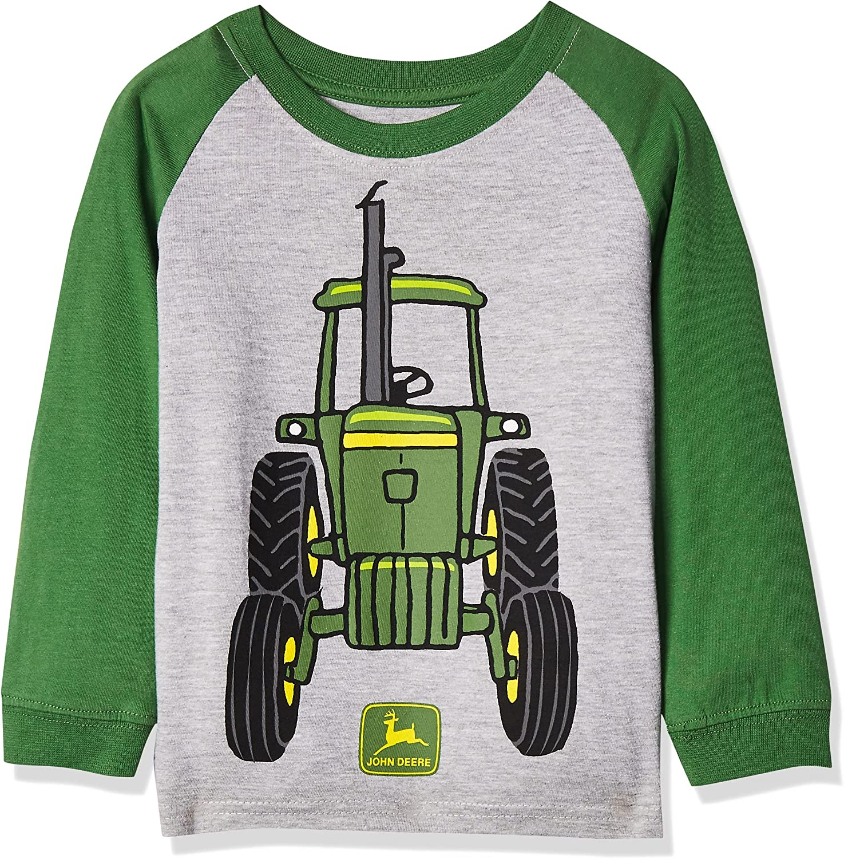 John Deere Boys' Toddler Tractor Dedication favorite Big Tee