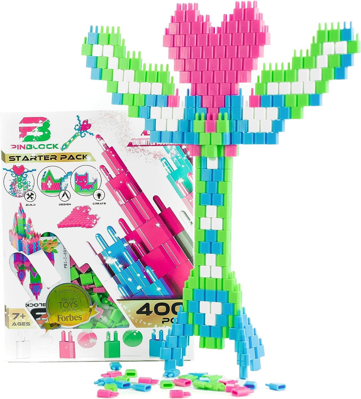 Pinblock Building Toy Starter Pack Princess