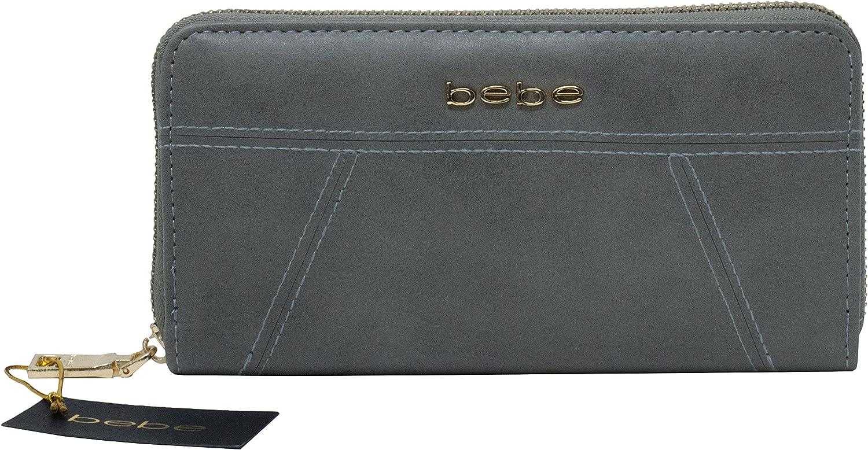 Bebe Evelyn Zip Around Wallet
