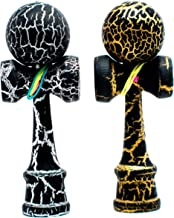 KENDAMA TOY CO. 2-Pack The Best Pocket Kendama (not Full Size) – Fancy Colors:..
