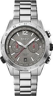Hugo Boss Grey Dial Stainless Steel Watch For Men 1513774