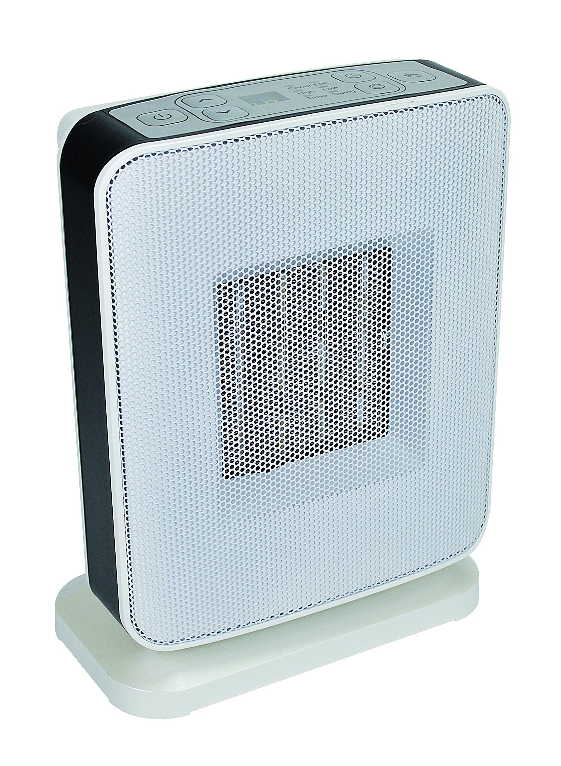 gamme Tako- 1800 W DREXON 923903 Noir Radiateur mobile Soufflant Thermostat m/écanique R/églable