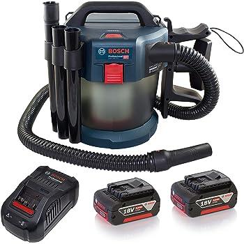 Bosch Professional 06019C6301 Aspirador, Azul/Transparente, 10 l, 0 W, 18 V: Amazon.es: Bricolaje y herramientas