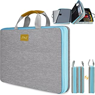 "ZINZ Slim & Expandable Laptop Sleeve 15 15.6 16 Inch Case Bag for Popular 15""-16"" Notebooks Water-Resistant Handbag Multip..."