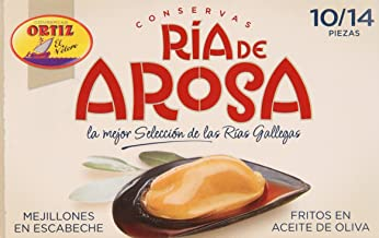 Delicias de Espana, Pickled Mussels (Mejillones en Escabeche), 3 boxes (10-14 mussels per box)