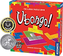 Thames & Kosmos Ubongo - Sprint to Solve The Puzzle   Family Friendly Fun Game   Highly Re-Playable   Quality Components (Made in Germany)