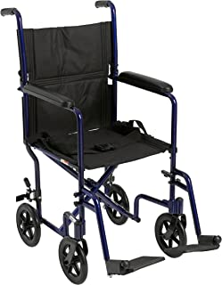 Drive Medical Aluminum Transport Chair, 19