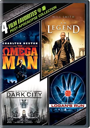 4 Film Favorites: Post-Apocalypse (I Am Legend / Logan's Run / Dark City / The Omega Man)