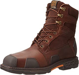 "Ariat Men's Overdrive 8"" Wide Square Toe Composite Toe Work Boot"