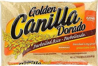 Goya Golden Canilla Parboiled Long Grain Rice, 20 Pound Bag