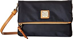 Dooney & Bourke Miramar Fold-Over Zip Crossbody