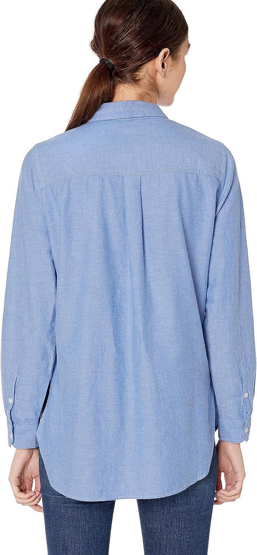 Brand Goodthreads Womens Brushed Twill Long-Sleeve Utility Shirt