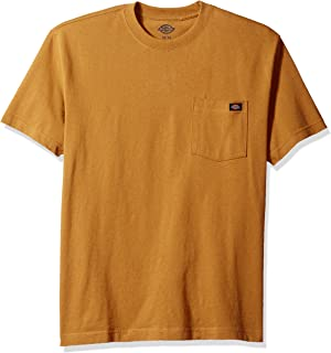 Dickies Men's Short Sleeve Heavyweight Crew Neck Pocket Tee