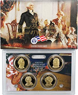 2008 S 4pc Presidential Proof Set Set Uncirculated