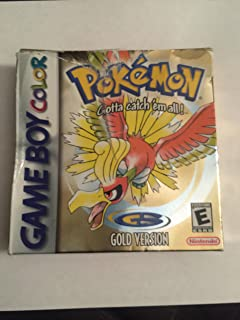Pokemon Gold Version Game [Game Boy Color]